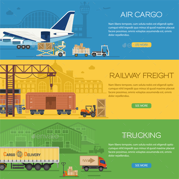 Trucking Industry Banners - Industries Business