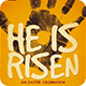 He Is Risen | Poster - GraphicRiver Item for Sale