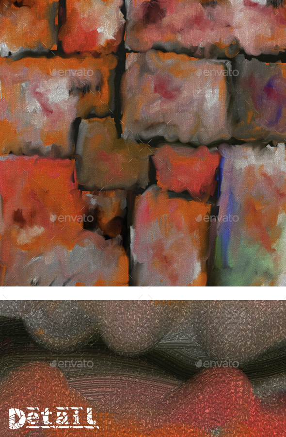 Abstract Painting - Abstract Textures