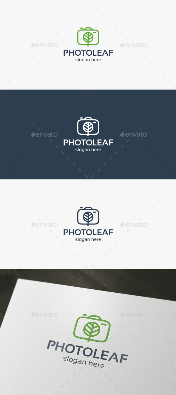 Nature Photo - Logo Template - Objects Logo Templates