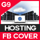 Cloud Hosting Facebook Cover - GraphicRiver Item for Sale