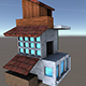 House Model 4 - (fablesalive game asset) - 3DOcean Item for Sale
