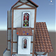 House Model 6 - (fablesalive game asset)  - 3DOcean Item for Sale