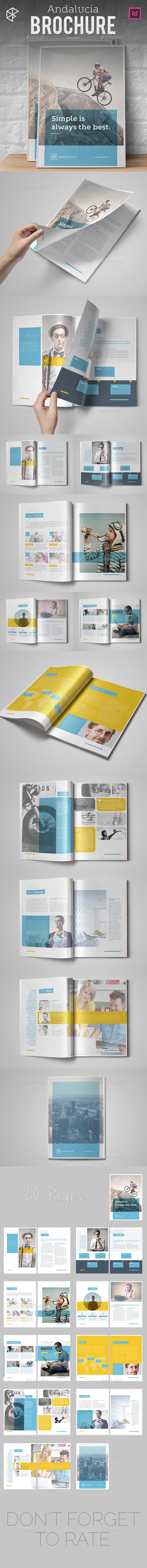 Andalucia Brochure - Informational Brochures