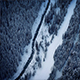Aerial Above River In Frozen Wilderness - VideoHive Item for Sale