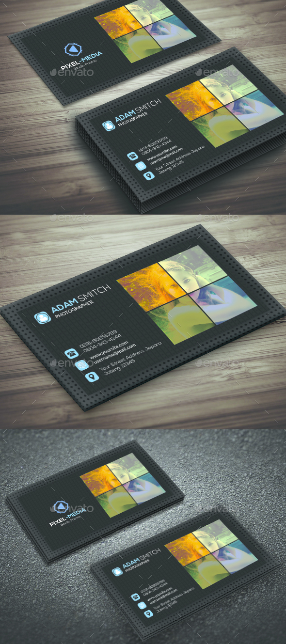 Style Photography Business Card - Corporate Business Cards