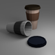 Low Poly Coffe Cup - 3DOcean Item for Sale