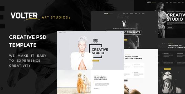 Volter – Creative PSD Template