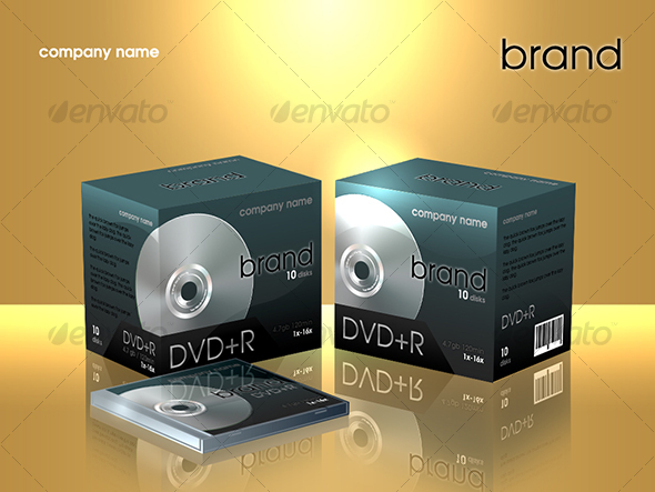 dvd box - Discs Packaging