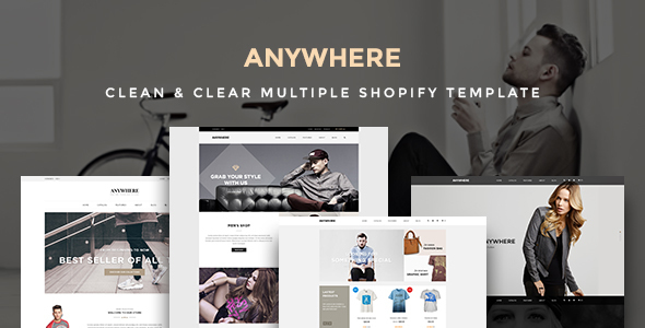 Image of Ap Anywhere Shopify Responsive Theme