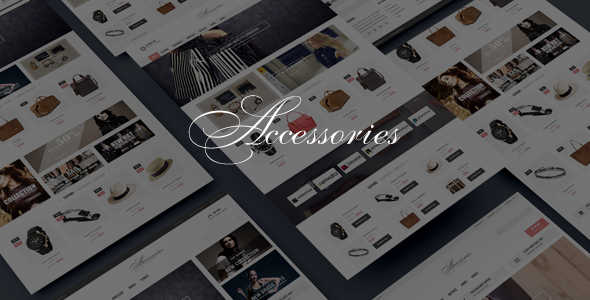 Accessories – Bootstrap HTML5 eCommerce Template