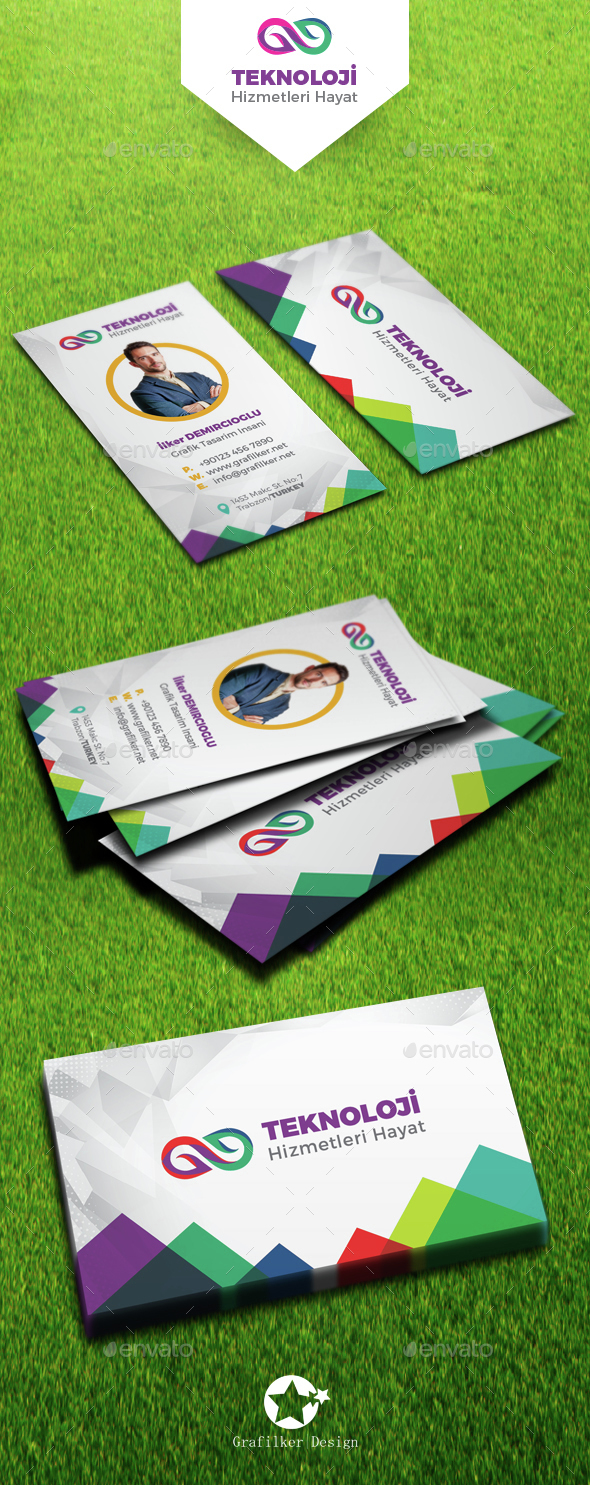 Technology Business Card Templates - Creative Business Cards