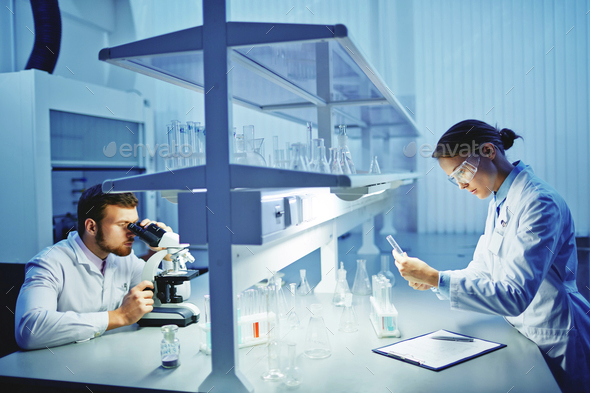 Laboratory research - Stock Photo - Images