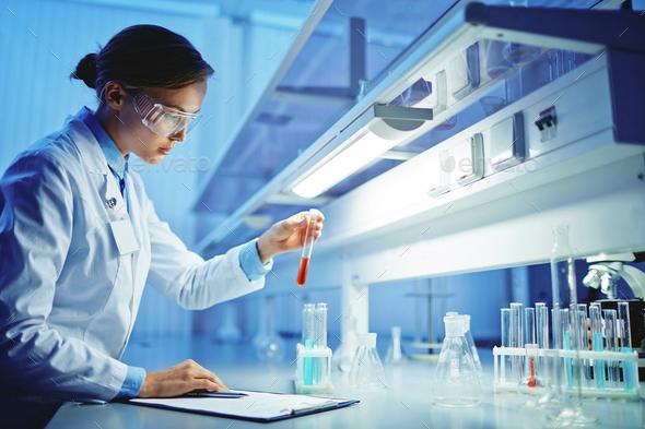 Scientific tests - Stock Photo - Images