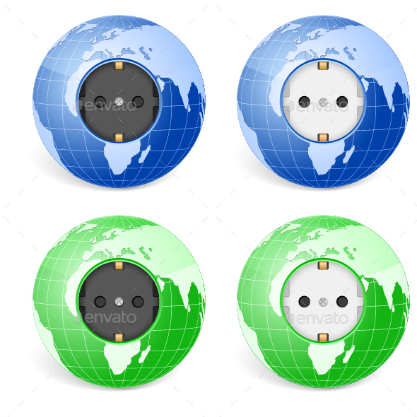 Outlet Socket World Globe - Industries Business