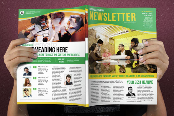 Newsletters Template 12 Pages Vol.4