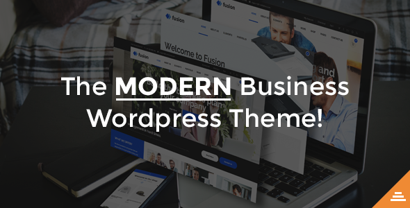 Fusion - A Modern Business WordPress Theme - Business Corporate