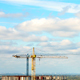 Clouds Over The Construction Site - VideoHive Item for Sale