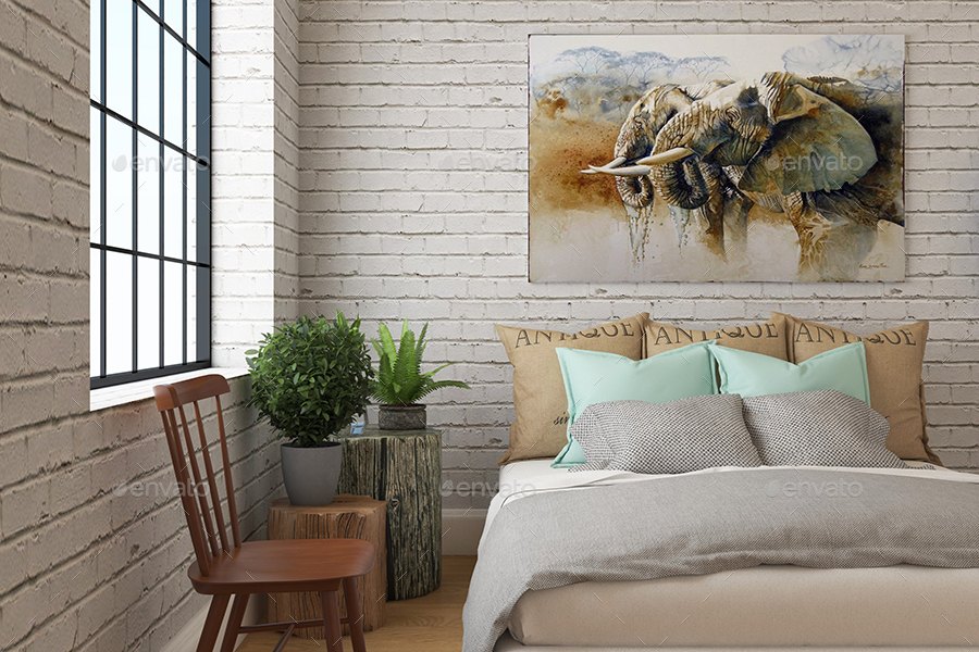 Picture poster mockups vol5 by dearli graphicriver - Poster schlafzimmer ...