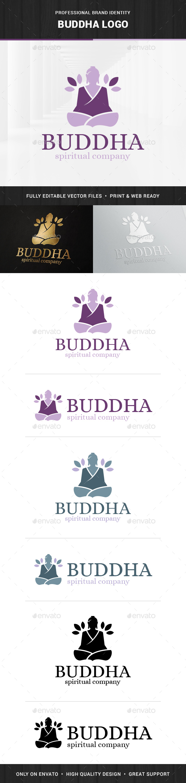 Buddha Logo Template - Humans Logo Templates