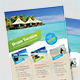 Holiday Travel & Vacation Flyer - GraphicRiver Item for Sale