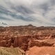Charyn Grand Canyon At Overcast Sky In Kazakhstan - VideoHive Item for Sale