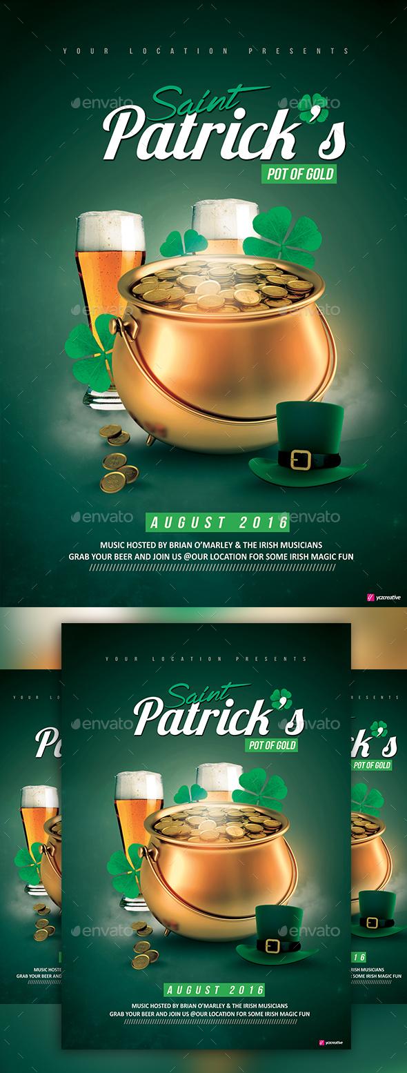 Saint Patrick's Pot of Gold - Clubs & Parties Events
