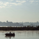 Fog Over The Water And Fisherman In Boat - VideoHive Item for Sale