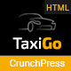 TaxiGo - Taxi Company & Cab Service Website Template