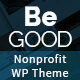 Be Good Nonprofit Multi-purpose WordPress Theme - ThemeForest Item for Sale