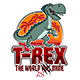 T-Rex Sticker - GraphicRiver Item for Sale
