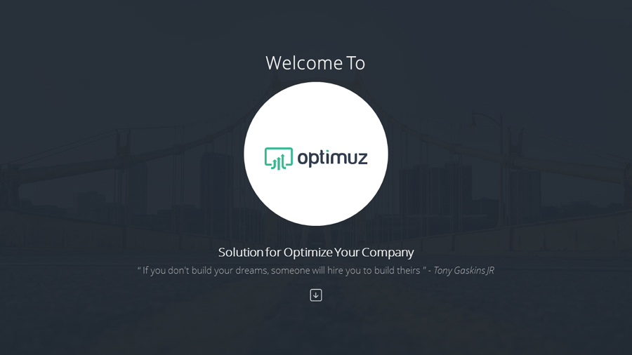 OPTIMUZ - Multipurpose Presentation Template