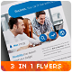 Business / Corporate Flyers vol. 9 - GraphicRiver Item for Sale