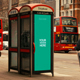 Telephone Booth Advertising Mockups - GraphicRiver Item for Sale