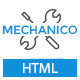 Mechanico - Car Mechanic Shop HTML Template - ThemeForest Item for Sale