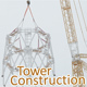Broadcasting Tower Construction - VideoHive Item for Sale