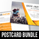 4 in 1 Corporate Business Postcard Bundle V03