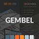 Gembel - Multipurpose Business Presentation - GraphicRiver Item for Sale