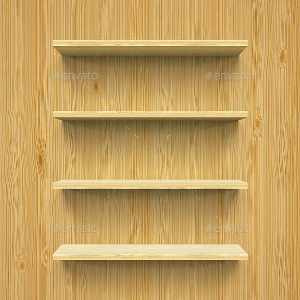 Shelves - Backgrounds Decorative