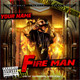 Fire Man Mixtape / Flyer or CD Template - GraphicRiver Item for Sale