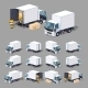 White Truck - GraphicRiver Item for Sale