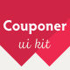 Couponer - Unique Mobile UI Kit - GraphicRiver Item for Sale