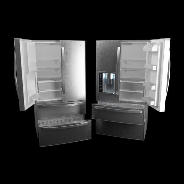 refrigerator LG - 3DOcean Item for Sale