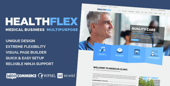 HEALTHFLEX – Medical And Health WordPress Theme