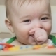 Baby Boy Sucking His Finger. Smile - VideoHive Item for Sale