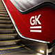 3D Animated Escalator / Lightbox Mockup - GraphicRiver Item for Sale