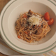 Serving Pasta Bolognese with Parmesan and Thyme - VideoHive Item for Sale