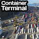 Container Terminal - VideoHive Item for Sale