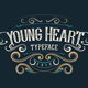 Young Heart Typeface - GraphicRiver Item for Sale