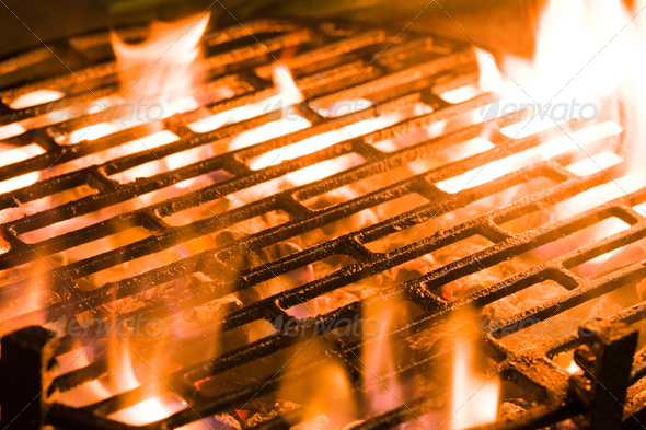 Charcoal grill - Stock Photo - Images